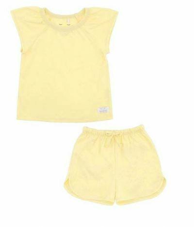 SNORK Selma Summer Pyjamas Pastel Yellow