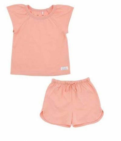 SNORK Selma Summer Pyjamas Peach Blush