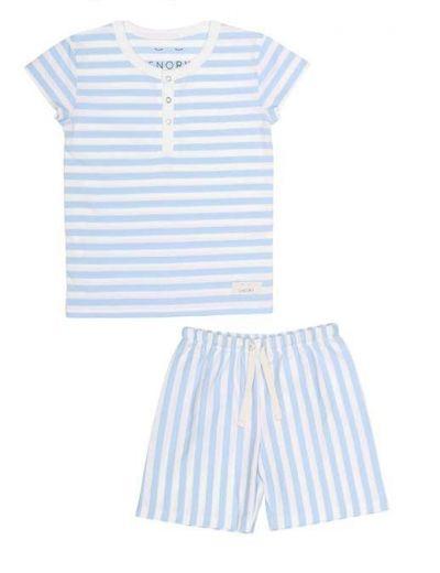 SNORK Vilhelm Summer Pyjamas Seastripes