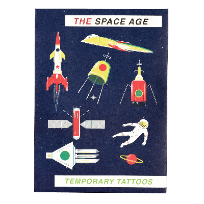 RL Temporary Tattoos Space age