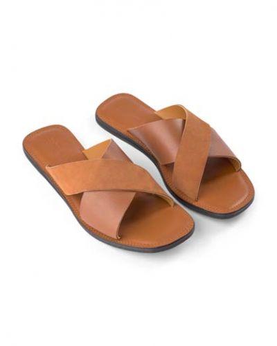 Shoe the Bear-TAO SLIDE Tan