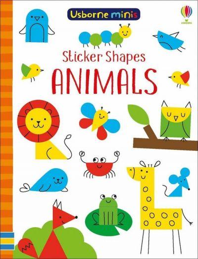 Usborne-Minis Sticker Shapes Animals