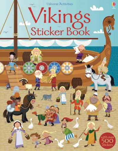 Sticker Book Vikings