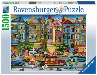 Ravensburger Puzzle 1500 Brk The Painted Ladies