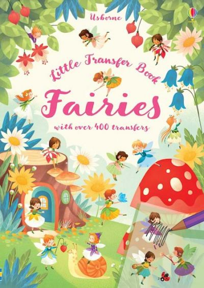 Usborne-Little Transfer Book Fairies