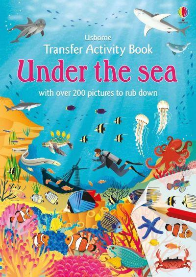 Usborne-Transfer Activity Book Under the Sea
