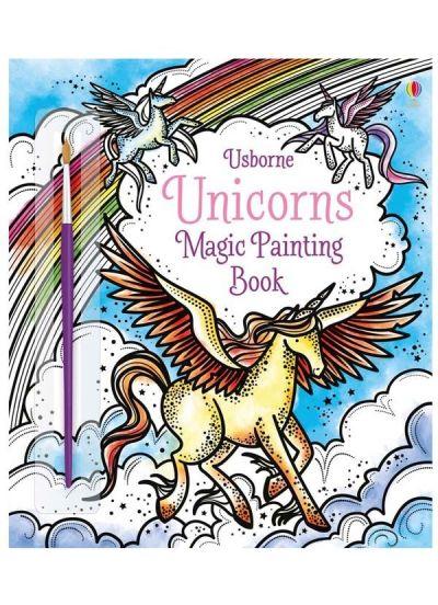 Usborne-Magic Painting Book Unicorns