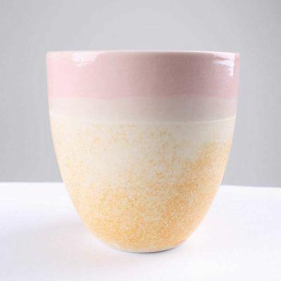 WAUW Pastello Kop Yellow Freckle/Pink