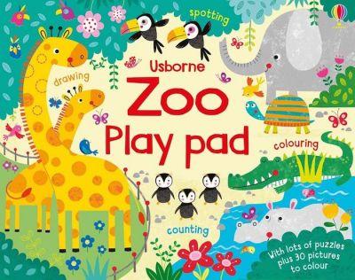 Usborne-Play Pad Zoo